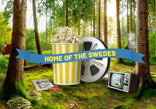 Home of the Swedes campaign image