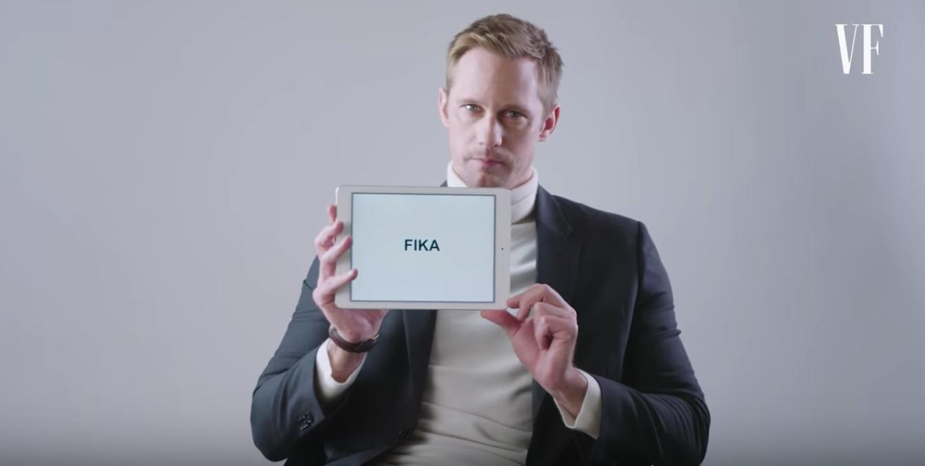 Alexander Skarsgård tells us about Swedish slang