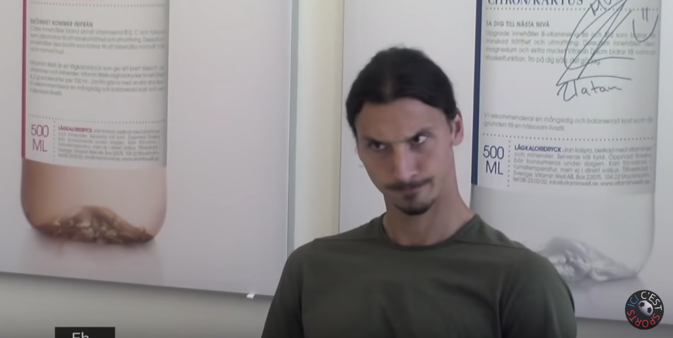 Compilation of funny Zlatan moments