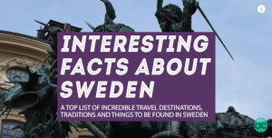 Interesting facts about Swedish traditions