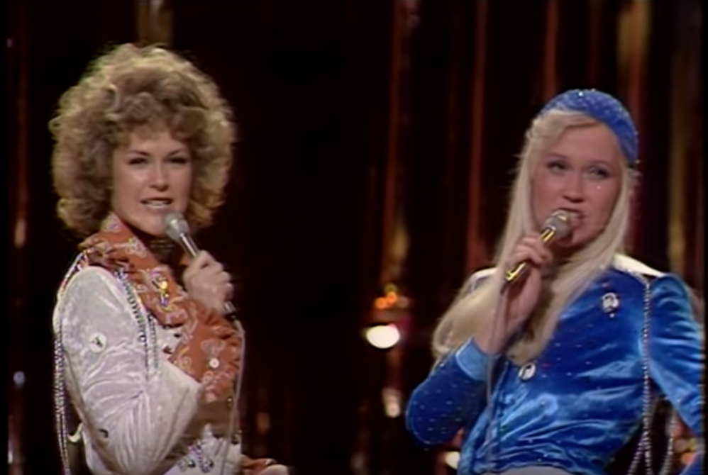 ABBA performing Waterloo at the 1974 Eurovision Song Contest