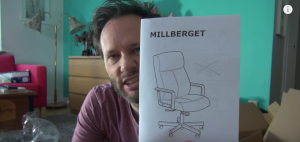 Follow the Swedish Lad to IKEA and learn how to assembly a chair