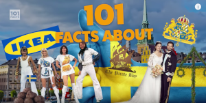 Going through 101 facts about Sweden