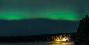 Compilation of Aurora Borealis over Kiruna, Sweden