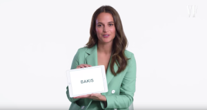 Learn Swedish slang with star Alicia Wikander
